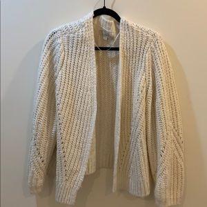 LOFT Chunky Knit Cardigan
